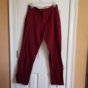 Nautica Maroon boys casual pants